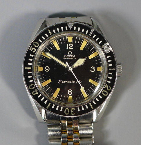 Fine Omega Automatic Seamaster 300 Divers Wristwatch #1