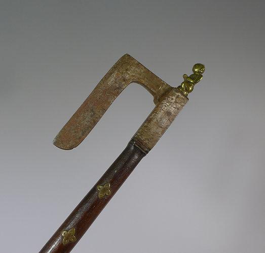 Antique 18th / 19th century Tabar Battle Axe India #1