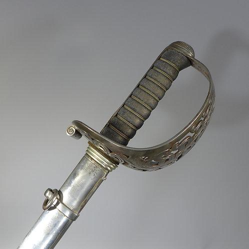 British Edward VII Heavy Cavalry Sword by Hamburger Rogers & co.