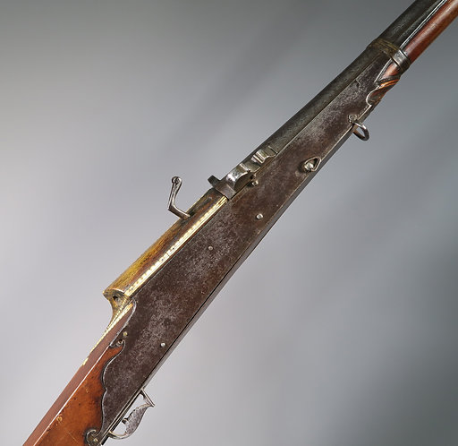 19th Century Antique Indian Decorated Toradar Matchlock Gun #1