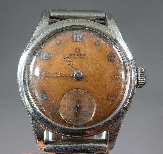 Unusual Vintage Omega Non Magnetic Electrical Worker's Wrist Watch #1