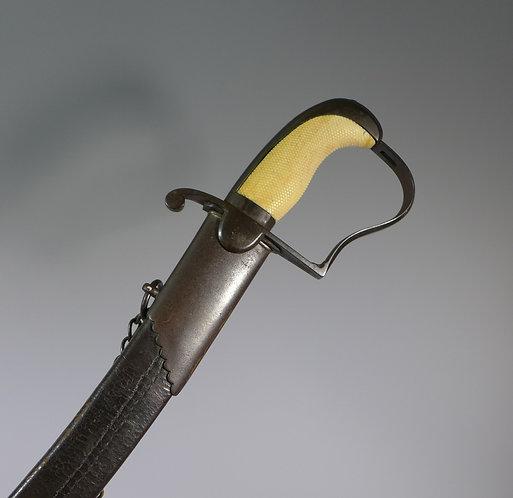 British Napoleonic Infantry Officers Blue & Gilt Georgian sword #1