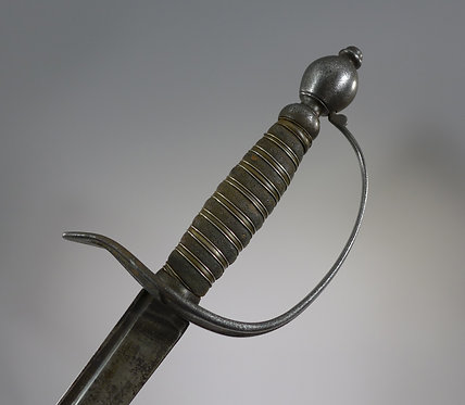 Rare 18th C. Slotted Hilt Spadroon Sword #1