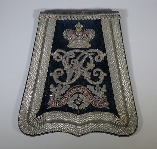 Victorian Military Middlesex Yeomanry Sabretache #1