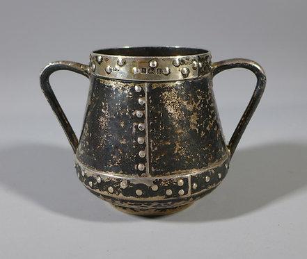 Fine Hallmarked Silver Arts & Crafts Small Bowl by James Fenton 1906 #1