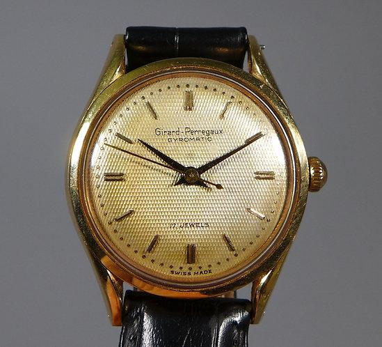 Fine 18ct Gold Girard Perregaux Gyromatic Automatic Wristwatch #1