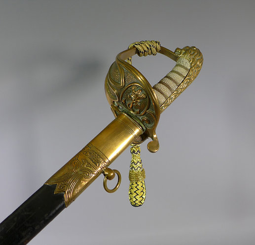 Fine Victorian British Admirals Naval sword (Flag rank) #1