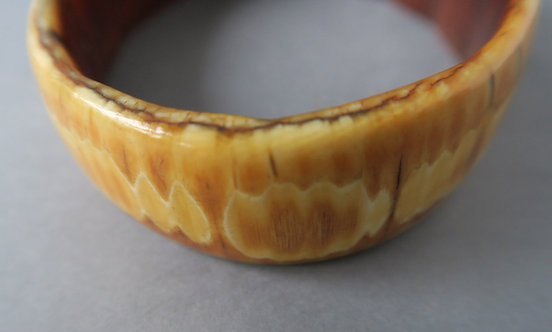 Fine Antique African Ivory Bangle #2
