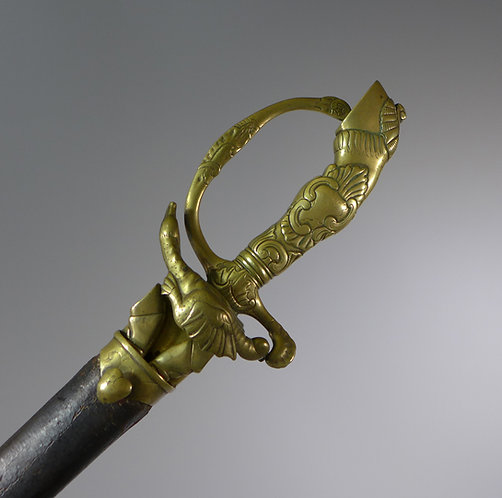 Rare Pandur sword Austria / Hungary 1740 – 48 #1