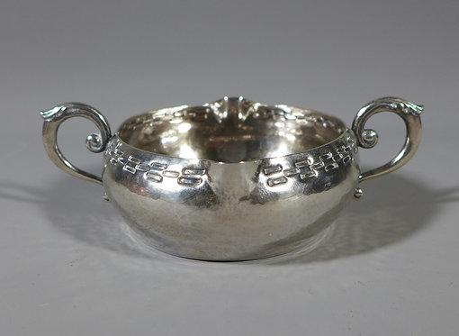 Rare Hallmarked Silver Arts & Crafts Porringer Keswick School of Industrial Arts #1