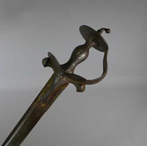18th century Indian Firangi sword #1