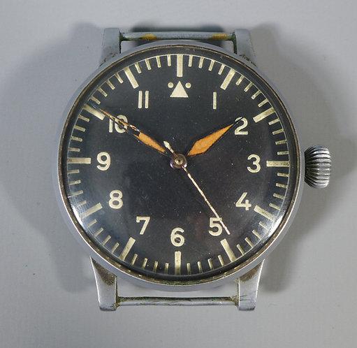 Rare  WW2  German Laco Pilots/Navigators Military Oversize Wristwatch #1