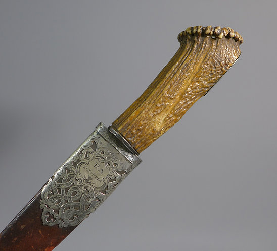 Fine 19th C. Scottish Dirk 91st (XCI) Regiment main