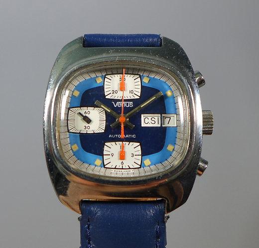 Vintage Venus Automatic Chronograph Wristwatch Valjoux 7750 Movement #1