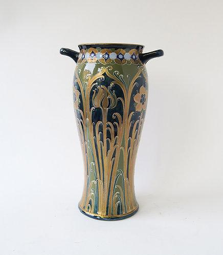 Large Moorcroft Macintyre Florian Ware Vase