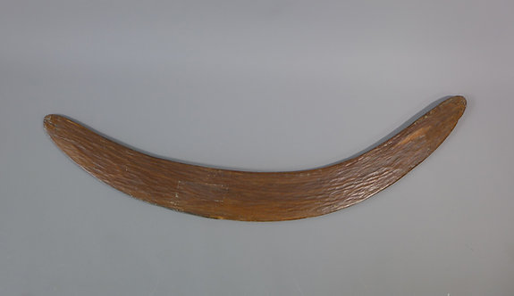 Antique tribal stone carved Australian Aboriginal boomerang #2