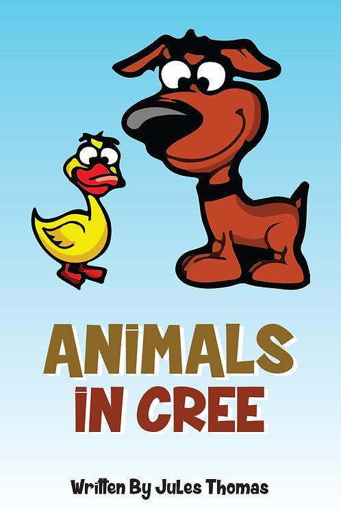 Animals in Cree - BOOK