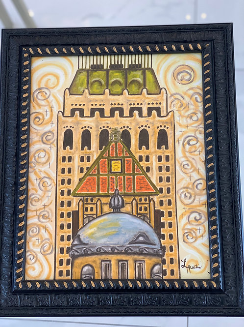 Tulsa Artwork by Laura Austin Giclee Print
