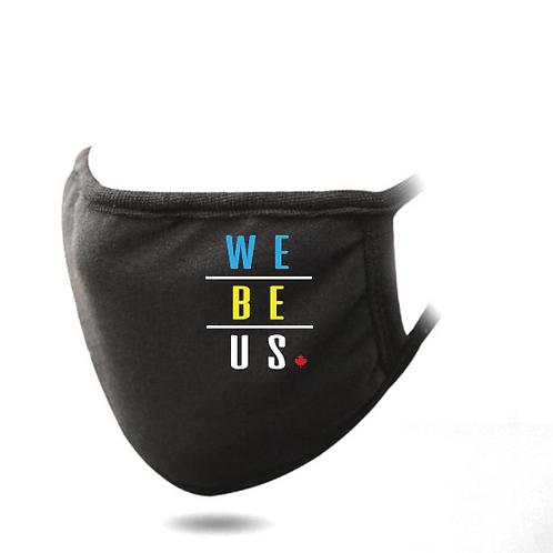 We Be Us Face Masks (3 MIXED)