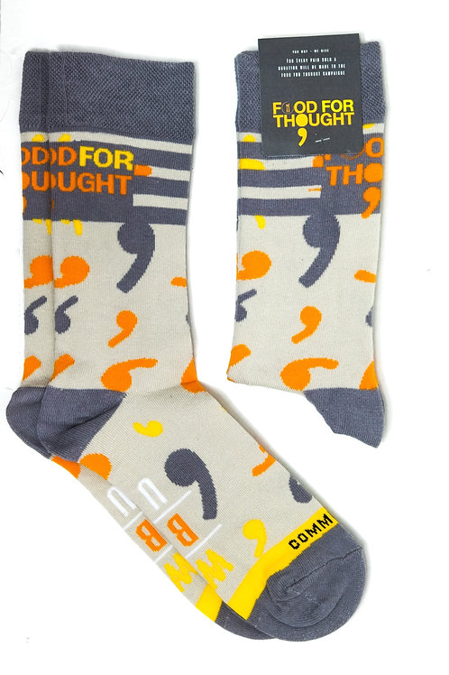 Food for Thought Sock