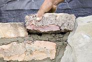 Legge steinmur og støttemur