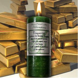 Prosperity Pillar Candle
