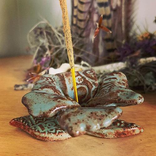Flower Incense Holder