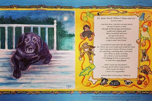 Original Poetry and Artwork Storyboards