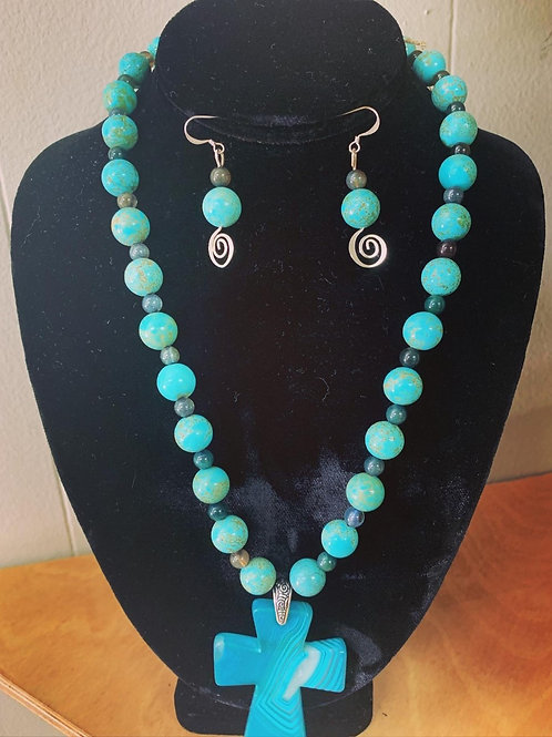 Amazonia Bead Necklace Set