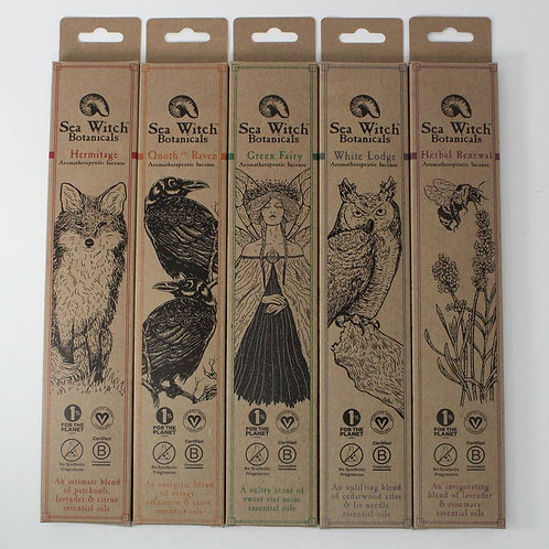 Sea Witch Botanicals Incense Sticks - Various Scents