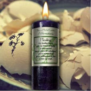 Healing Pillar Candle