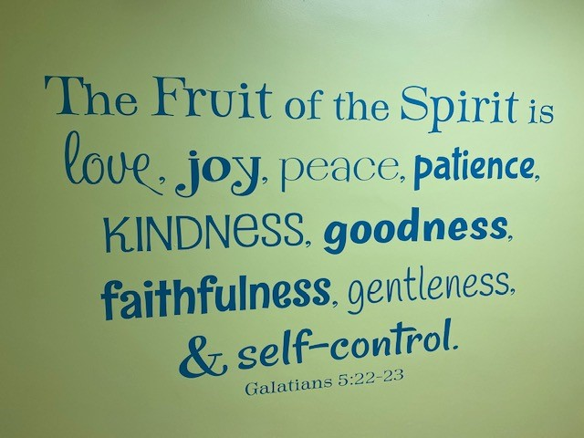 fruit of the spirit hall