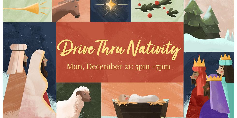 Drive Thru Living Nativity