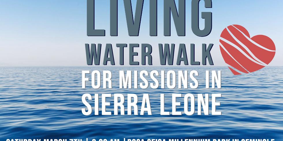 Living Water Walk