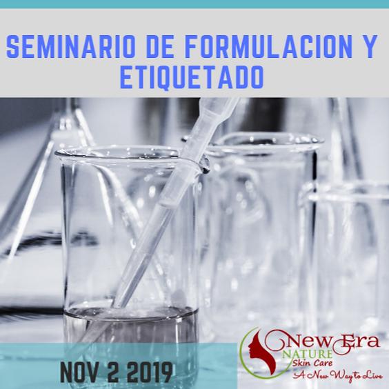 Seminario de Formulación & Etiquetado Nov. 2