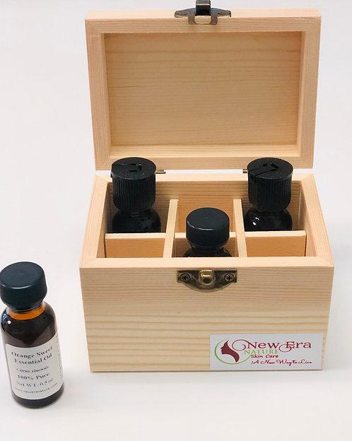 Caja de Madera para Guardar Aceites Esenciales