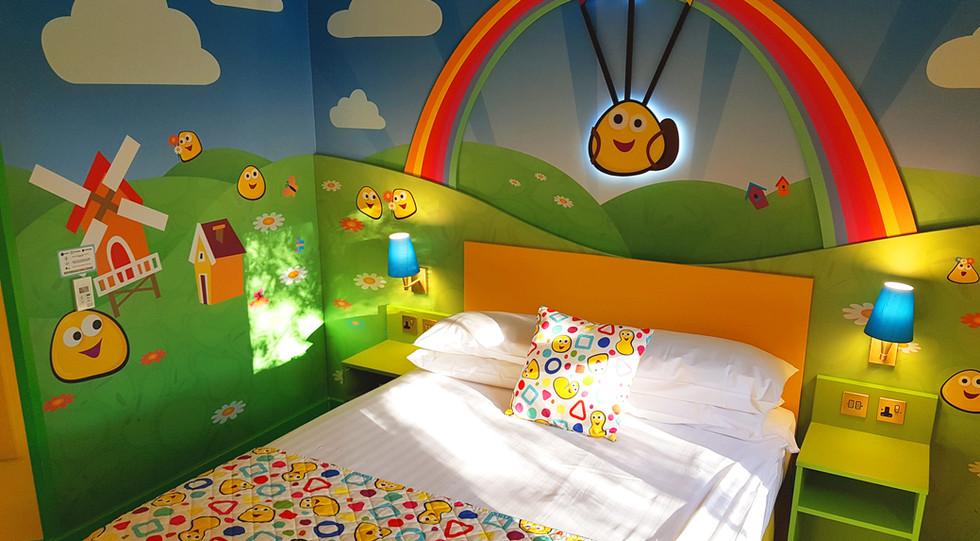 Cbeebies Land Hotel Bugs Room Daytime.jp