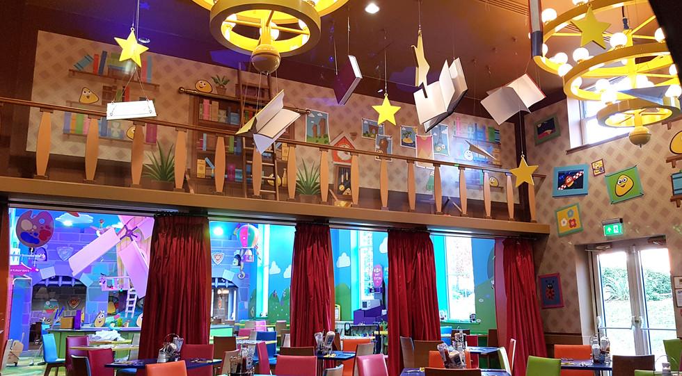 Cbeebies Land Hotel Restaurant Library.j