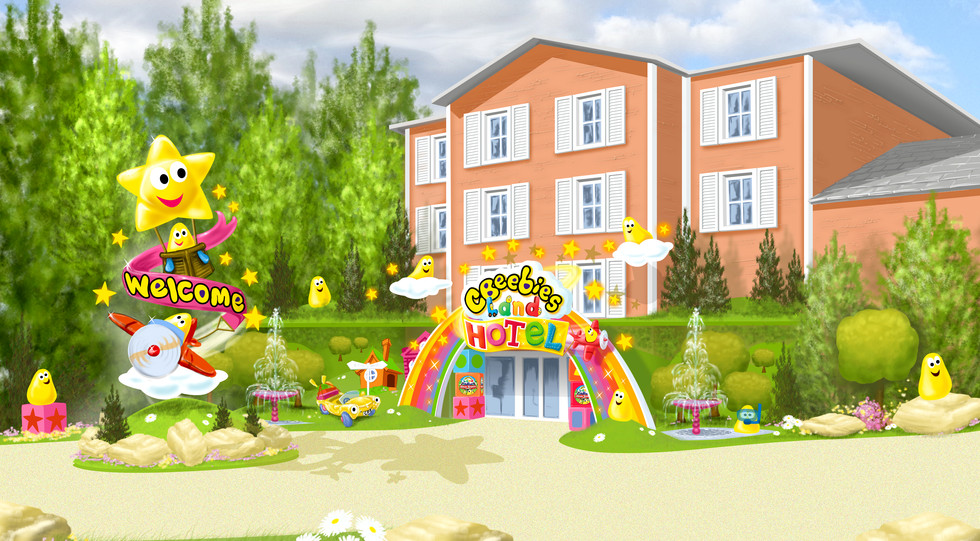 20150515 Hotel Exterior Entrance Visual