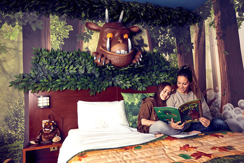 Gruffalo themed hotel rooms