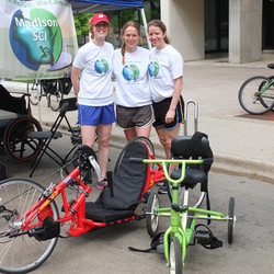 Volunteers at Ride the Drive