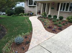 Beautiful new walkway and plants!