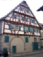 Detailreiches Fachwerkhaus
