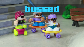 Tech Deck Dudes by Spinmaster Toys