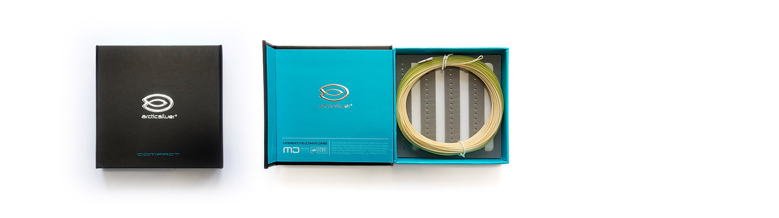 Compact Fly fishing micro-diameter single handed fly lines