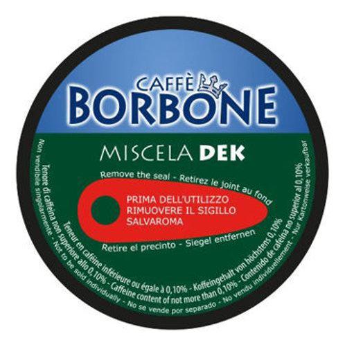 90 Capsule Caffè Borbone Miscela DEK Compatibili con macchine a marchio Nescafé