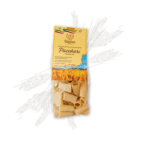 Paccheri di Semola di grano duro Ruggiero 500gr