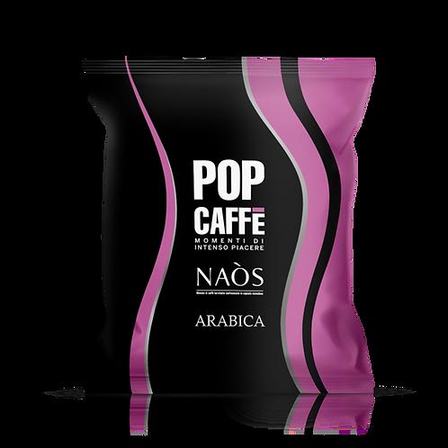 100 Capsule - POP Caffè Naòs Arabica Compatibile Nespresso