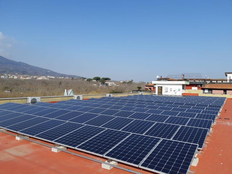 Impianto fotovoltaico - Terzigno (NA)