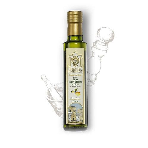 Mediterranea food Olio Extra Vergine di Oliva aromatizzato al Limone Biologico 2